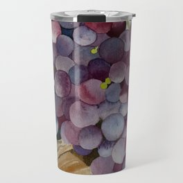 A Glass of Red wine Travel Mug