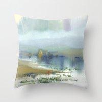 heaven Throw Pillows featuring Heaven by Ivanka Costru