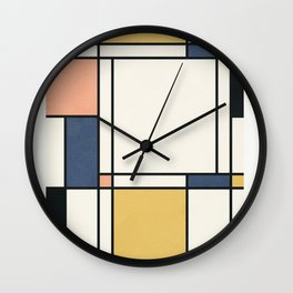 Clean Flow Geometry 1 Wall Clock