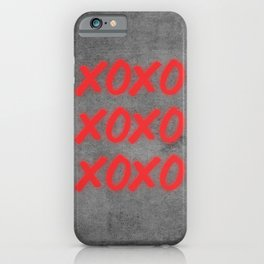 Hugs and Kisses iPhone Case