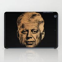 jfk iPad Cases featuring Forever Old | JFK by teokon