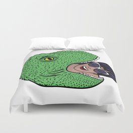Dinosourprise Duvet Cover