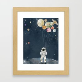 solar collector Framed Art Print