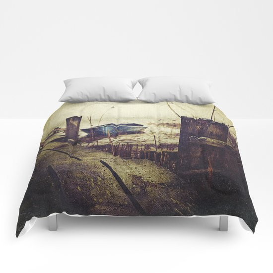 Rugged fisherman Comforters