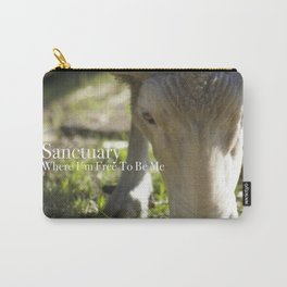 Mary @ Happy Hooves Farm Sanctuary Carry-All Pouch