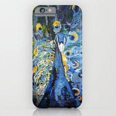 Blue Peacock  iPhone 6s Slim Case