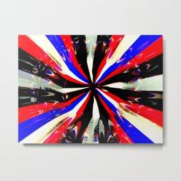 Pattern #6 - Bold Stripes Metal Print