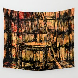 Full metal chair Wall Tapestry
