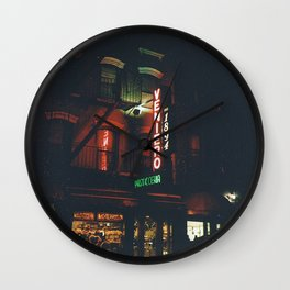 East Village Wall Clock