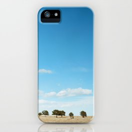 Blue Sky   Film Photography iPhone Case