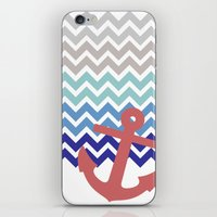 nautical iPhone & iPod Skins featuring Nautical  by emain