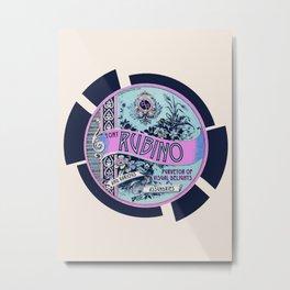 Rise Rubino Metal Print