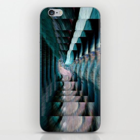 WALKING THE STEPS OF TIME iPhone & iPod Skin