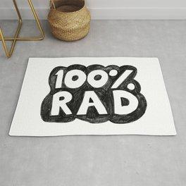 100 % RAD - Bubble Rug
