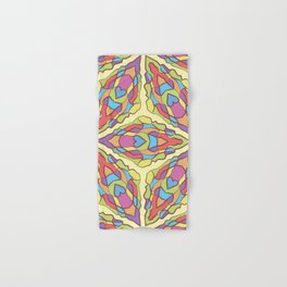 pattern of stained glass Hand & Bath Towel