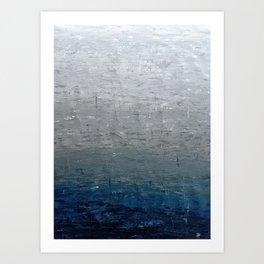 Ocean Skies Art Print