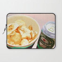 Potato chips and Heineken Laptop Sleeve