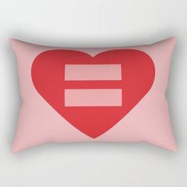Equal Love #5 Rectangular Pillow