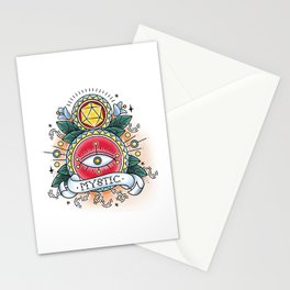 Mystic - Vintage D&D Tattoo Stationery Cards