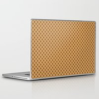 70s Laptop & iPad Skins featuring 70s Pattern by Ryan Winters