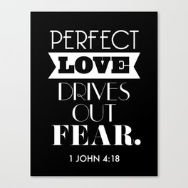 Perfect love Canvas Print