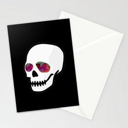 Skull. Stationery Cards