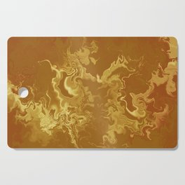 Dragon fire abstract Cutting Board