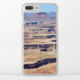 Green River Overlook Clear iPhone Case