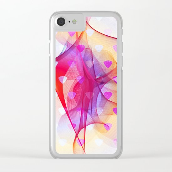 Web Fantasy Clear iPhone Case