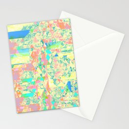 Pastell Triangle Stationery Cards