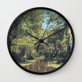 Swampland Wall Clock
