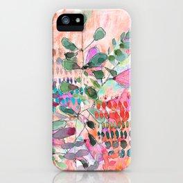 Peachy Stem iPhone Case