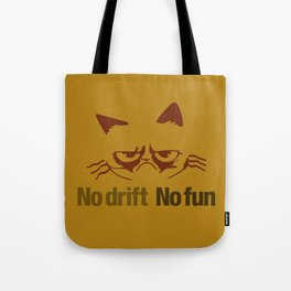 No drift No fun v3 HQvector Tote Bag