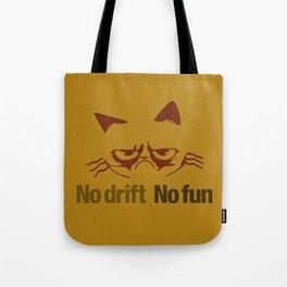 No drift No fun v3 HQvector Tote Bag