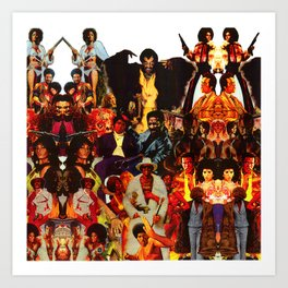 The Black Invasion Art Print