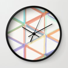 Spring in Angles Wall Clock