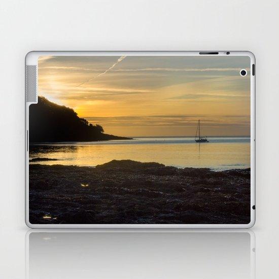 Sunrise Pendennis Point Falmouth Laptop & iPad Skin