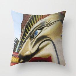 Luna's Facade Throw Pillow
