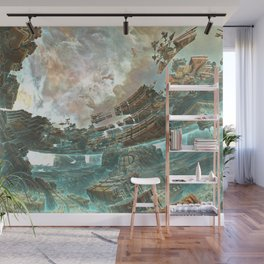 Aqua Space Shipyard Wall Mural
