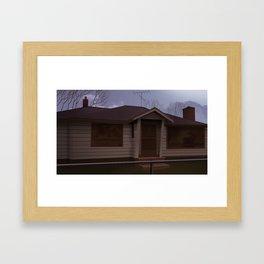 Hurley House Framed Art Print