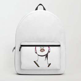 Gold Lips Backpack