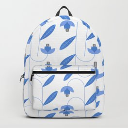 Spring Blues - Lilies Backpack
