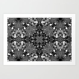 The Caverns Of Memory Art Print