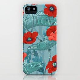 Barracuda - Aqua version iPhone Case
