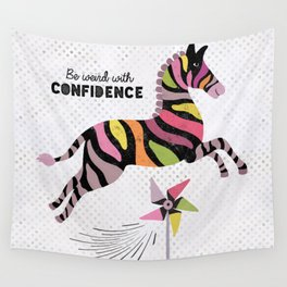 Be Weird With Confidence Wall Tapestry