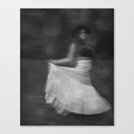 It's a Blur Canvas Print