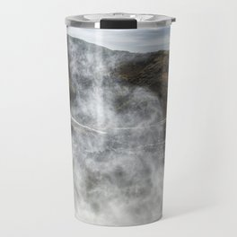 Mist Creature Rising from Spouting Horn Travel Mug