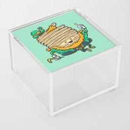 St Patricks Cakes Acrylic Box