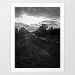 To the Unknown Art Print