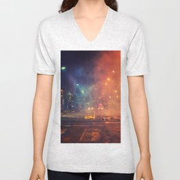 Nights of protest - Venezuela Unisex V-Neck
